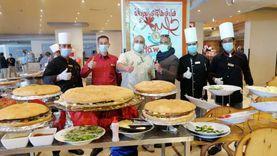 تجهيز أكبر «ساندويتش برجر» بفنادق الغردقة لتنشيط السياحة  «صور»