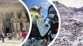 المنشآت الفندقية: مبادرة «شتي في مصر» غرضها تنشيط السياحة الداخلية
