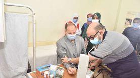 محافظ أسيوط يتفقد فعاليات المبادرة الرئاسية لفحص وعلاج الأمراض المزمنة