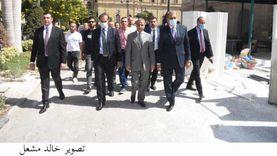 لجنة الشيوخ تتابع أعمال التجديد والترميم استعدادا لانطلاق جلساته
