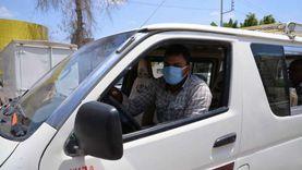 ضبط 5465 سائق نقل جماعى لعدم إرتداء الكمامات وتحرير 641 مخالفة غلق