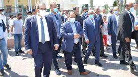 وزيرا الصناعة والمالية يفتتحان معرض «صنع في بورسعيد»
