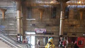 السكة الحديد والمترو يعقمان 900 قطار و300 منفذ تذاكر لمواجهة كورونا