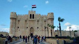 آثار الإسكندرية: مشروع حماية قلعة قايتباي من النوة تكلف 267 مليون جنيه