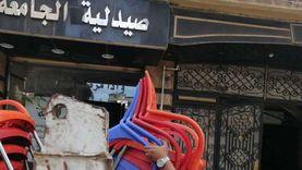 حملة مكبرة لإزالة الإشغالات بأحياء الإسكندرية