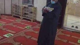 وكيل أوقاف المنيا يتفقد إجراءات المساجد في أول أيام رمضان