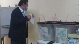 إيهاب الخولي يدلي بصوته في انتخابات مجلس الشيوخ: واجبنا الوطني
