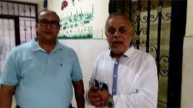 أشرف زكي يدلي بصوته بلجنة 6 أكتوبر: حريصون على تأدية دورنا تجاه الوطن