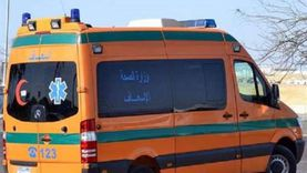 إصابة 4 أشخاص إثر سقوط سيارة من أعلى كوبري صفط اللبن