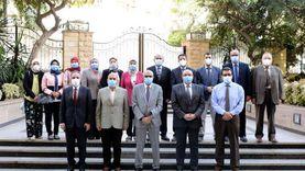 """لجهودها في مواجهة """"كورونا"""".. مجلس جامعة المنصورة يكرم """"إدارة الأزمات"""""""