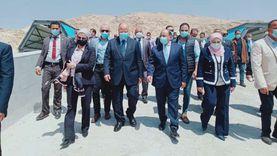 افتتاح محطة المقطم الوسيطة لإدارة المخلفات بحضور 3 وزراء