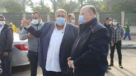 صور.. محافظ القاهرة يتابع إنهاء عمليات شفط مياه بشوارع العاصمة