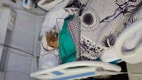 أطباء مستشفى ميت غمر ينقذون شابا أصيب بنزيف بالمخ في حادث