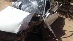 إصابة 8 أشخاص في حادث تصادم بكفر الشيخ
