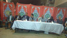 مؤتمر انتخابي بحضور 4 متنافسين على مقاعد النواب بالشرقية