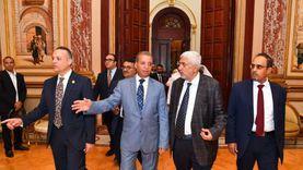 أمين «الشيوخ» يستقبل أمناء عموم ومساعدين في البرلمانات العربية