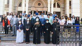 """البابا تواضروس الثاني لشباب الدارسين بالخارج: """"مصر سيدة الحضارة"""""""