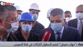 رئيس قناة السويس: الكراكة مهاب مميش ستدخل الخدمة الشهر الجاري