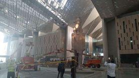 تعامد الشمس على وجه تمثال رمسيس الثاني في المتحف الكبير