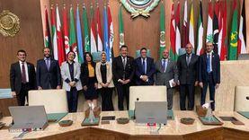 وفد من نواب التنسيقية يزور جامعة الدول العربية ويتفقد أروقتها التاريخية