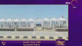 محافظ الإسكندرية: 50% من البحر كان محجوبا عن المواطنين