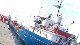 ننشر أول صورة للمركب اللبناني المختطف في نيجيريا وعلى متنه مصريون