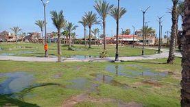 منع مواطنين حاولوا التسلل للشواطئ والحدائق في بورسعيد رغم إغلاقها (صور)
