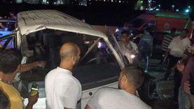 """تفاصيل مصرع وإصابة 8 بالعياط: سيارة نقل صدمت 5 """"تكاتك"""""""