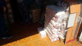 ضبط أغذية ومشروبات فاسدة بمدينة دهب