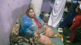 """""""عزيزة"""" وزنها 300 كيلو: مادخلتش الحمام من 4 سنين والمرض بياكل في رجلي"""