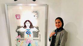 عبير عادل فنانة مصرية أبدعت في النحت المطبوع: الصين اشترت لوحاتها