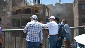 محافظ القليوبية يتابع أعمال إزالة المباني المتعارضة مع الطريق الدائري