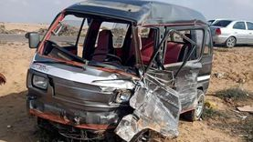 عاجل.. إصابة 11 شخصا في حادث تصادم على طريق الإسماعيلية
