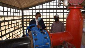 بتكلفة 6 ملايين جنيه.. تشغيل بئر مياه جديدة في واحة سيوة بحضور المحافظ