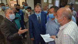 محافظ المنيا يتابع تلقي طلبات التصالح في مخالفات البناء