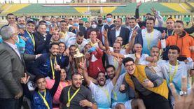 """فريق """"قلما"""" بطلا لدوري كرة القدم لمراكز شباب القرى بالقليوبية"""