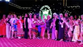 """الروسية """"دارينا"""" تفوز بملكة جمال المواهب في مسابقة ميس إيكو بالغردقة"""