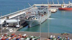 تداول 5829 طنا من البضائع و567 شاحنة بموانئ البحر الأحمر