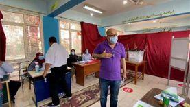 محافظ الغربية يتابع توافد المواطنين على صناديق الاقتراع