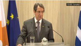 الرئيس القبرصي: يجب اتخاذ إجراءات حازمة ضد الدول الداعمة للإرهاب