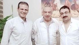 """""""جروبي"""" يجمع المخرج جمال عبد الحميد ويوسف حسن يوسف"""