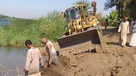 """""""الري"""" تواصل حملات إزالة التعديات على المجاري المائية لنهر النيل"""