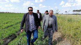وكيل «الزراعة» بدمياط يشدد: حسن استقبال المزارعين وعدم تحميلهم أعباء