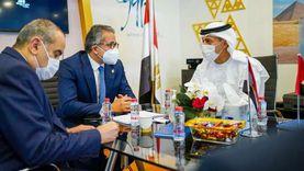 «العناني وعنبة» يلتقيان وزير الإمارات لريادة الأعمال والمشاريع الصغيرة