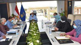 محافظ أسوان يشكل لجنة لمعاينة خط الطرد الرئيسي للصرف الصحي