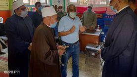 """أمين """"البحوث الإسلامية"""" يتفقد وعظ القاهرة ويتابع خدمات لجنة الفتوى"""