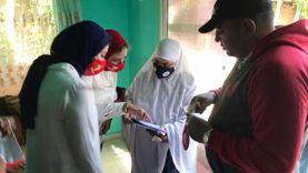 تطعيم 52% من المستهدفين ضد شلل الأطفال في جنوب سيناء «صور»