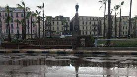 أمطار غزيرة تجتاح الإسكندرية.. ورفع درجة الاستعداد القصوى