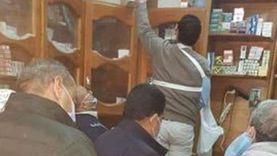 ضبط مخزن أدوية غير مرخص بمركز مطاي في المنيا