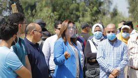 محافظ دمياط تتفقد مشروعات «حياة كريمة» بقرية الإسماعيلية